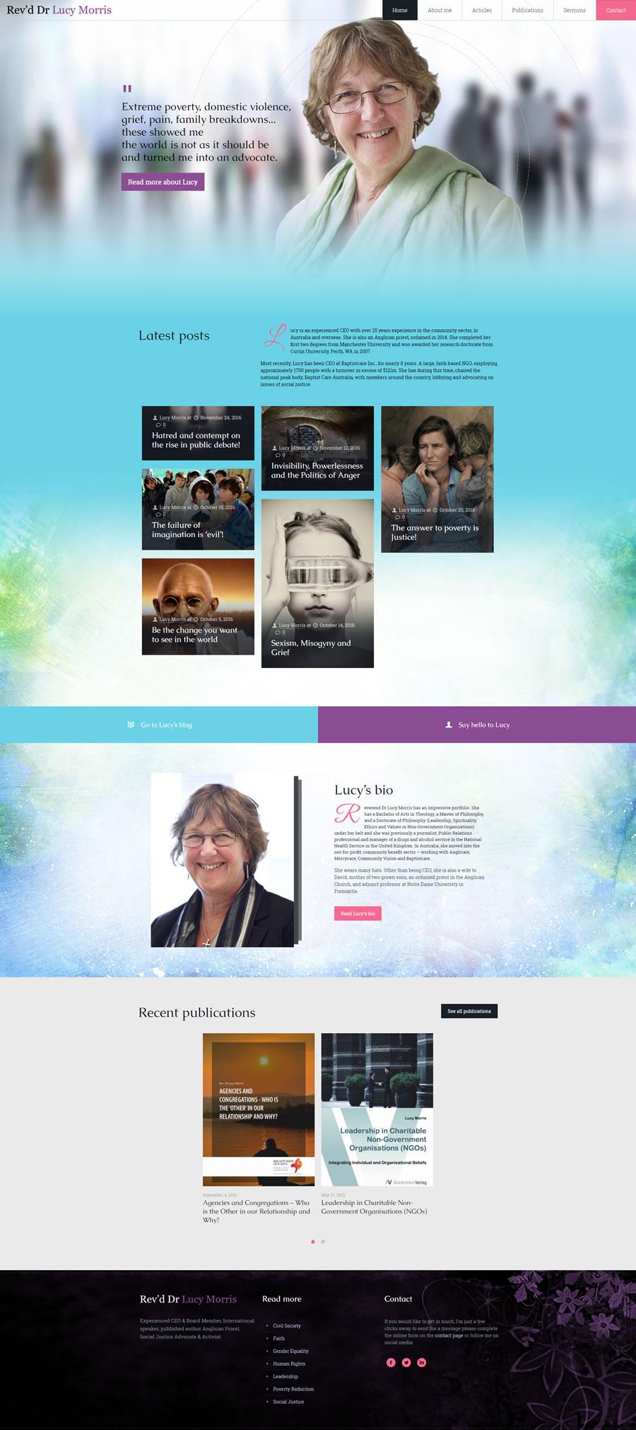 Rev'd Dr Lucy Morris